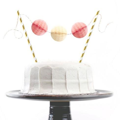 Inklings PaperieR Pink Buttercream Cake Topper Kit Target