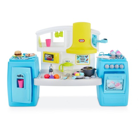 Little Tikes Tasty Jr. Bake 'n Share Role Play Kitchen and Activity Set - image 1 of 4