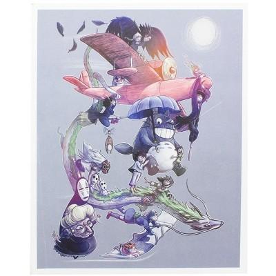 Nerd Block Studio Ghibli 8x10 Art Print by MoisEscudero (Nerd Block Exclusive)