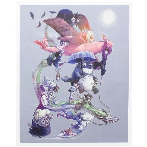 Nerd Block Studio Ghibli 8x10 Art Print by MoisEscudero (Nerd Block Exclusive) - image 1 of 1