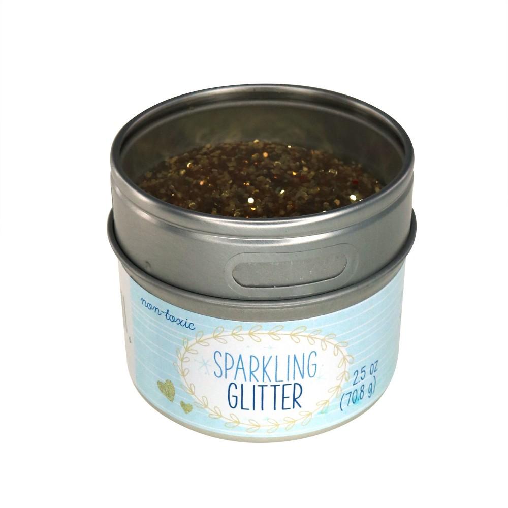Advantus 2.5oz Glitter - Gold