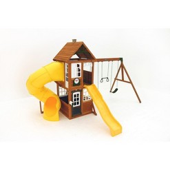 KidKraft Lewiston Retreat Wooden Swing Set/Playset