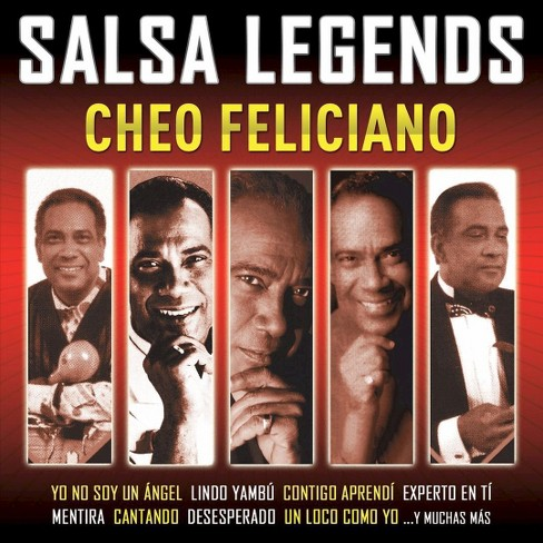 Cheo feliciano - Salsa legends (CD) - image 1 of 1