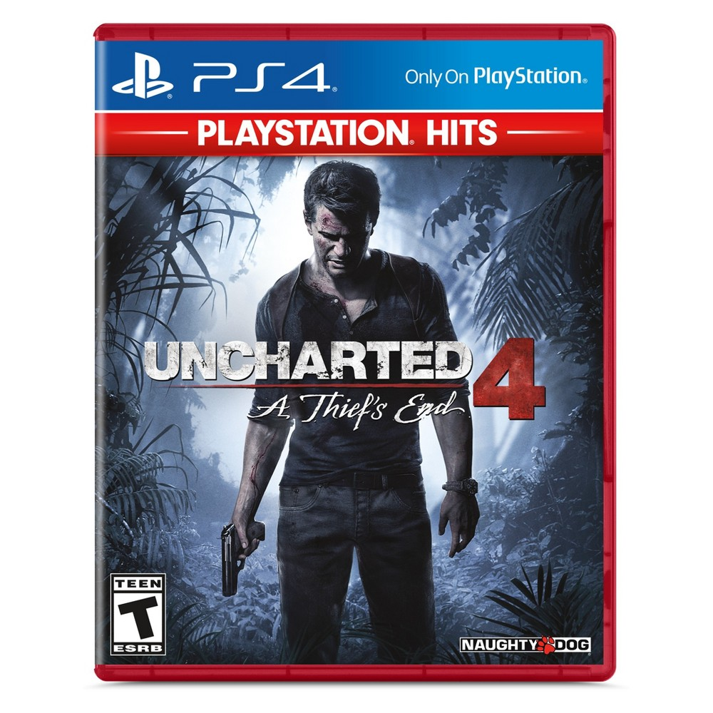 Uncharted 4: A Thief's End - PlayStation 4 (PlayStation Hits) was $19.99 now $9.99 (50.0% off)