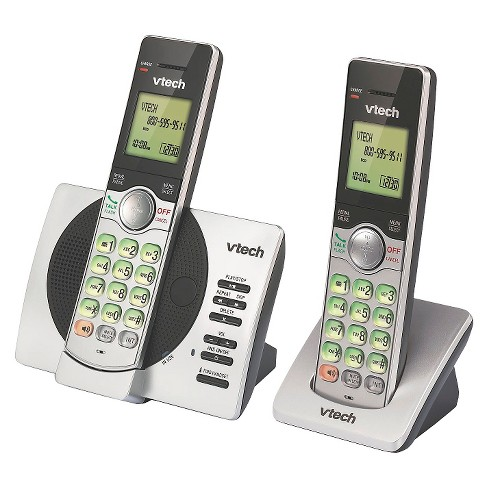 a7b93d72fc14 VTech® CS6929-2 DECT 6.0 Expandable Cordless Phone System with Answering  Machine, 2 Handsets - Silver