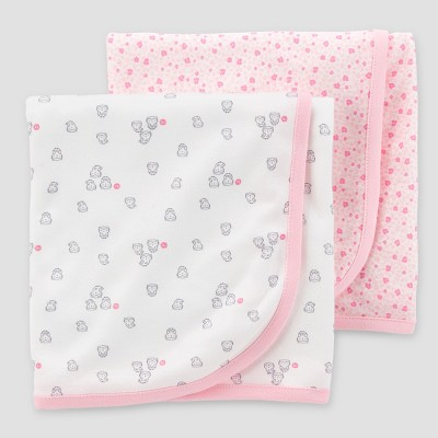 Baby Girls' Blanket - Just One You® made by carter's Pink One Size