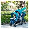 Joovy Big Caboose Graphite Stand-On Tandem Triple Stroller - Black - image 4 of 4