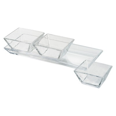 Artland® Courtland 4pc Glass Serving Tray