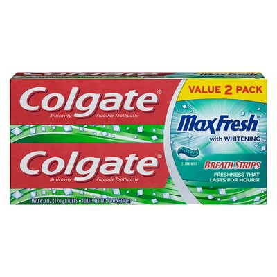 Colgate Max Fresh with Mini Breath Strips