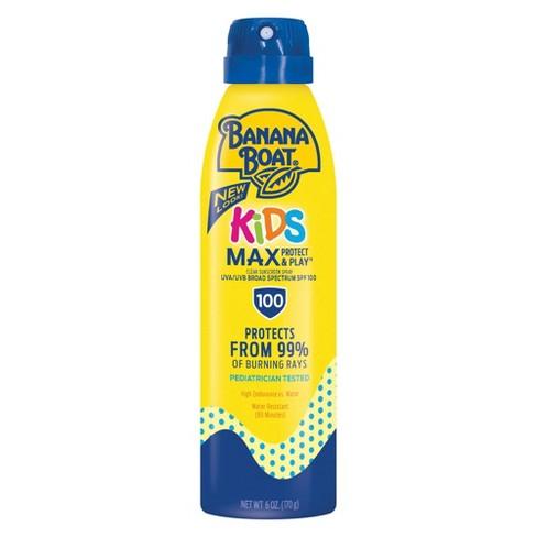 Banana Boat Kids Max Protect & Play Sunscreen C-Spray - SPF 100 - 6oz - image 1 of 5