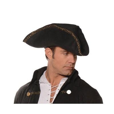 Underwraps Costumes Tricorn Pirate Adult Costume Hat