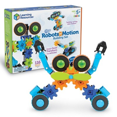 Learning Resources Gears! Gears! Gears! Robots in Motion Building Set