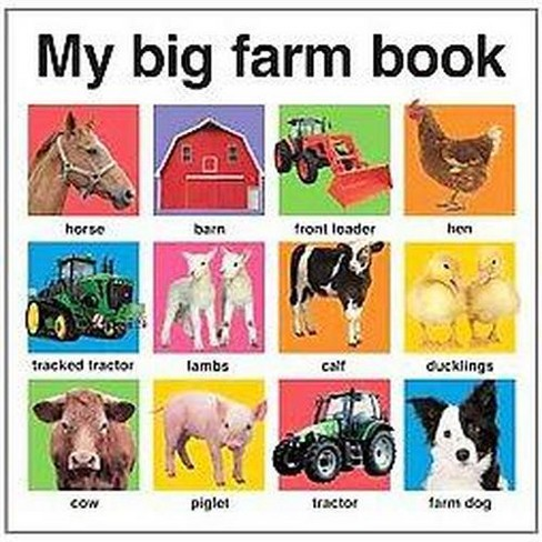 My Big Farm Book (Hardcover) - image 1 of 1