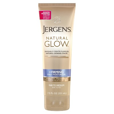 Body Lotions: Jergens Natural Glow + Firming Moisturizer
