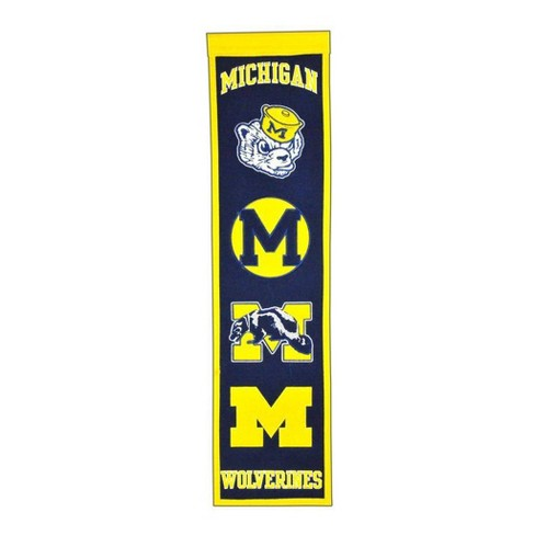 NCAA Michigan Wolverines Heritage Banner - image 1 of 1