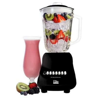 Elite Gourmet Blender - Black 717056122449