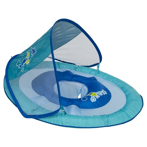 Baby Spring Float Sun Canopy - Blue Lobster - image 1 of 1