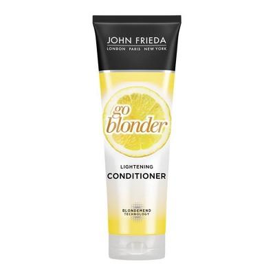 John Frieda Sheer Blonde Go Blonder Lightening Conditioner - 8.3oz