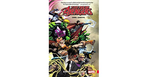 New Avengers A.i.m. 1 : Everything Is New (Paperback) (Al Ewing) - image 1 of 1