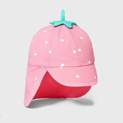 Baby Girls' Strawberry Swim Hat - Cat & Jack™ Pink