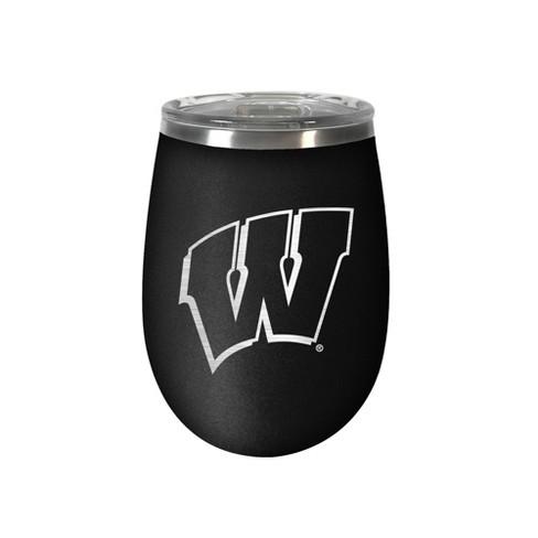 NCAA Wisconsin Badgers 12oz Stainless Steel Wine Tumbler - image 1 of 1