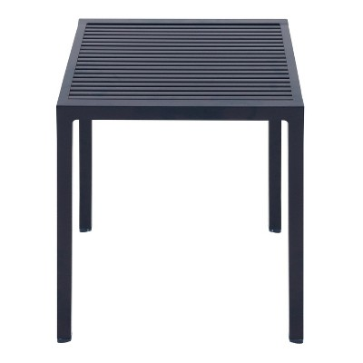 Aluminum Slat Stacking Patio Accent Table - Blue - Project 62™