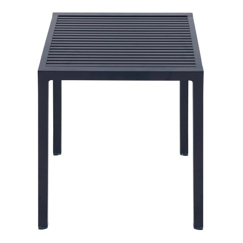 Aluminum Slat Stacking Patio Accent Table - Blue - Project 62™ - image 1 of 2
