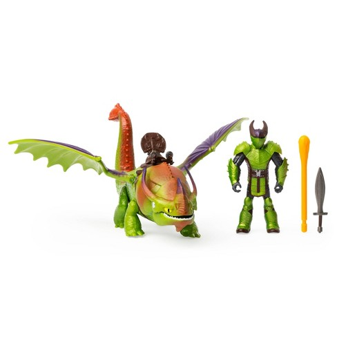 DreamWorks Dragons Eret and Skullcrusher with Armored Viking Figure - image 1 of 4
