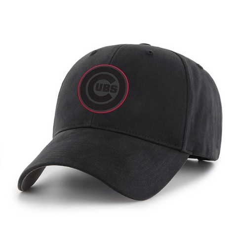 MLB Chicago Cubs Classic Black Adjustable Cap/Hat by Fan Favorite - image 1 of 2