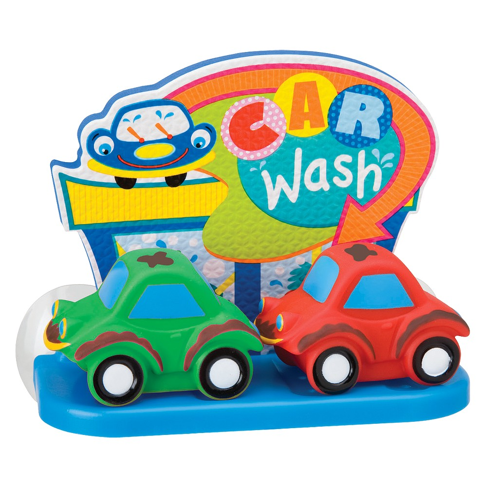 Alex Dirty Cars Bath Toy, Bath Toys Make bath time a learning experience for your child with this Alex Toys car wash. They will be captivated by the bright colors. Wash the cars by placing them in the bath water. It attaches to the tub or wall with suction cups. Gender: Male.