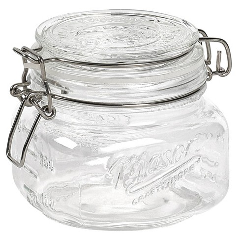 Mason Craft & More Set of 4 Graduated Clamp Jars - image 1 of 4