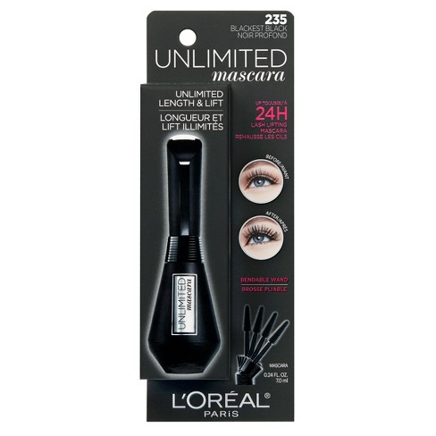 bf0764d842e L'Oreal Paris Unlimited Washable Mascara - 0.24 Fl Oz : Target