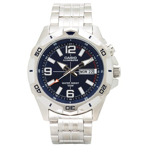 f98ca544f Casio Men's Dive Style Stainless Steel Watch (MTD1082D-2AVCF) : Target