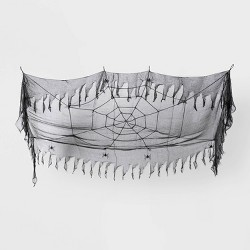 Spider Web Halloween Ceiling Tapestry - Hyde & EEK! Boutique™
