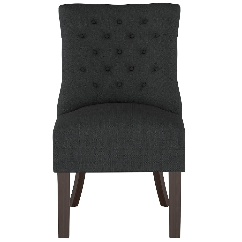Winslow Tufted Back Chair Black - Threshold