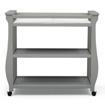 Delta Children Lancaster Changing Table - Gray