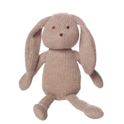 """Manhattan Toy Knits 8"""" Clover Bunny Stuffed Animal - image 1 of 2"""