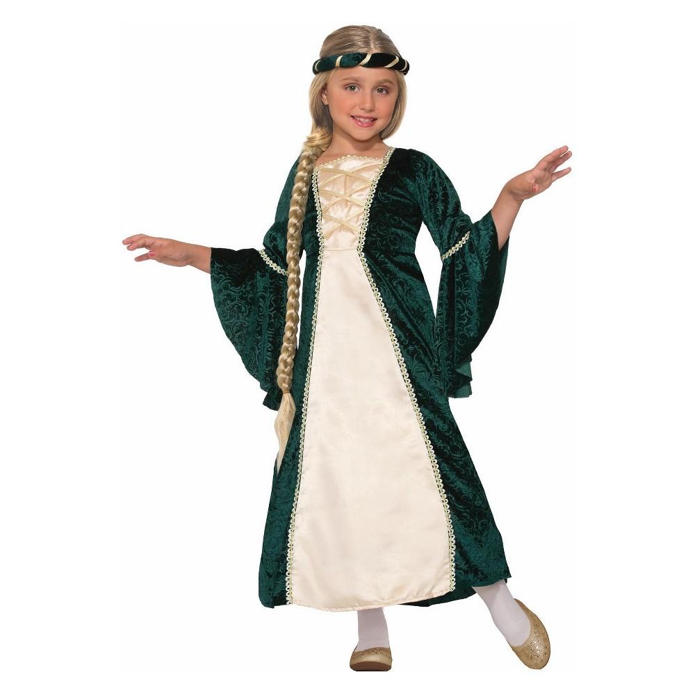 Girls' Lady Of Sherwood Halloween Costume S, Multicolored