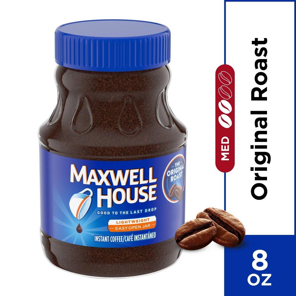 Maxwell House Original Instant Light Roast Coffee 8oz
