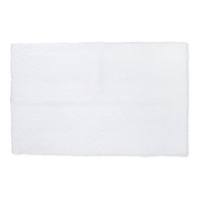 38 x24  Tufted Spa Bath Rug White - Fieldcrest®
