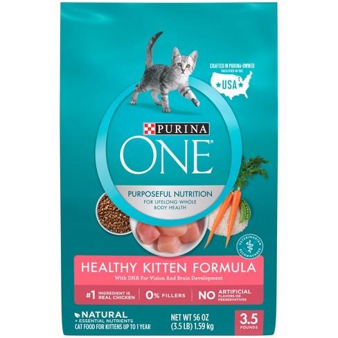 Purina One Healthy Kitten Formula Premium Dry Cat Food