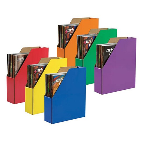 Pacon Classroom Keepers Assorted Magazine Holders - Set of 6 - image 1 of 1