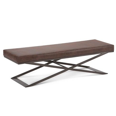 Cooper Large Ottoman Bench - Simpli Home - image 1 of 6