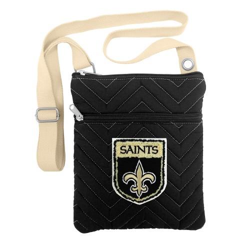 Wholesale NFL New Orleans Saints Chev Stitch Crossbody Bag : Target