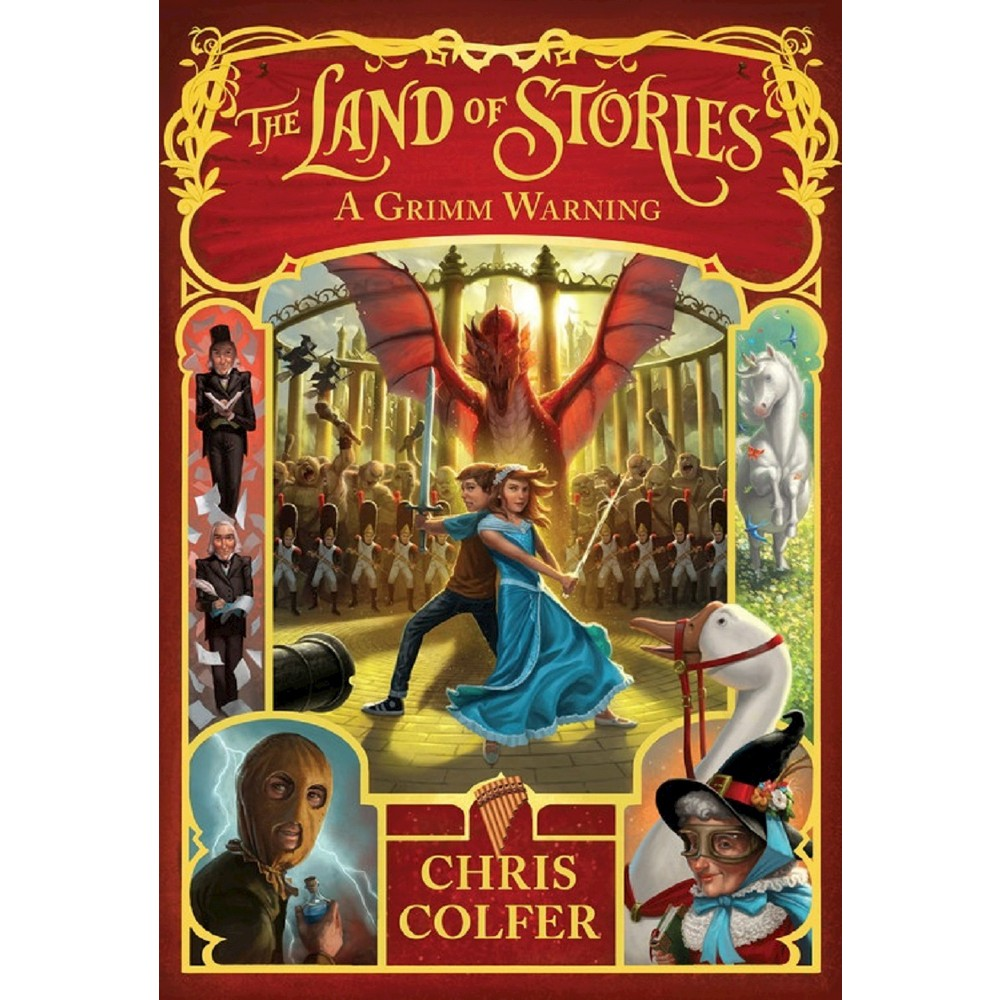 A Grimm Warning ( Land of Stories) (Hardcover) by Chris Colfer