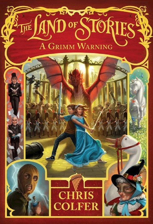 A Grimm Warning ( Land of Stories) (Hardcover) by Chris Colfer - image 1 of 1