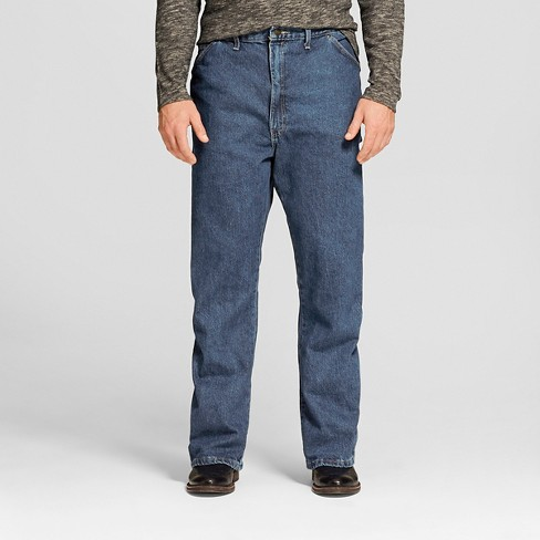 Dickies® - Men's Big & Tall Loose Straight Fit Denim Carpenter Jeans - image 1 of 6