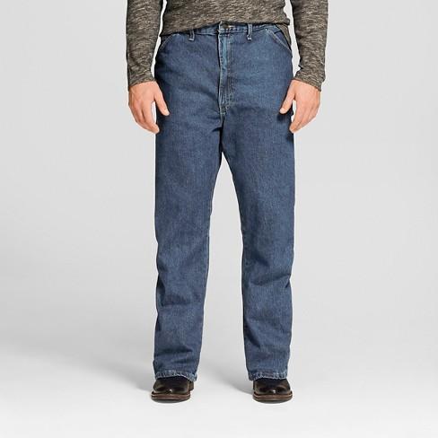 325fc893 Dickies® - Men's Big & Tall Loose Straight Fit Denim Carpenter Jeans :  Target