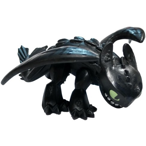 How To Train Your Dragon The Hidden World Mystery Dragon Night Fury Toothless 1 Inch Open Mouth Loose Target