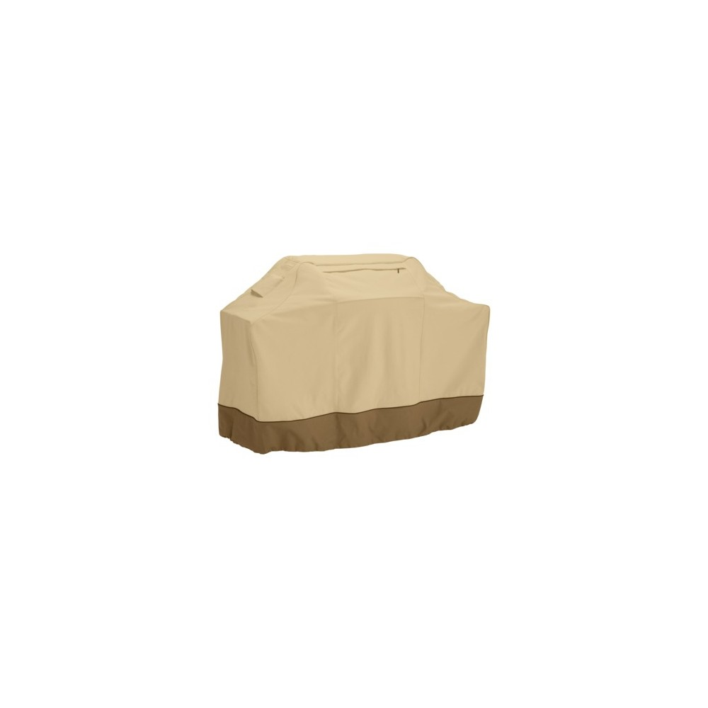 Image of Classic Accessories Veranda Cart Barbecue Cover - Large, Brown
